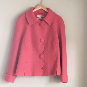 Boden | Pink Pea Coat size 16